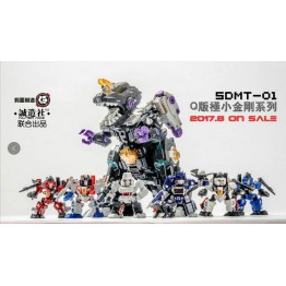 Master Made SDMT-01  SET of 6 Mini Figure