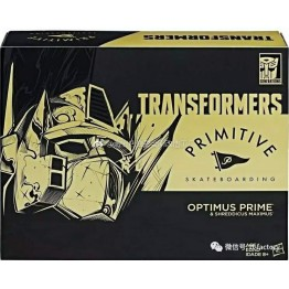 Hasbro Transformers Primitive Skateboarding  Optimus Prime
