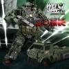 WEI JIANG MW003 Diecast Motorman Sleuth