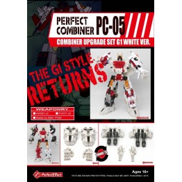 Perfect Effect  PC-05 Perfect Combiner Upgrade Set (White)