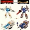 TakaraTomy Transformers Legends - LG65 + LG66 Twin Twist Topspin