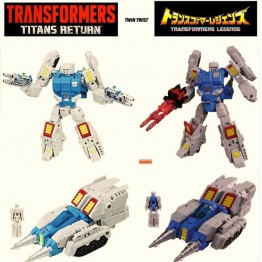 TakaraTomy Transformers Legends - LG65 Targetmaster Twin Twist