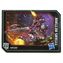 Hasbro Titans Return Arcee & Leinad Special Edition Set