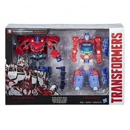 TakaraTomy Transformers TLK-EX Optimus Prime & Orion Pax 2 Set