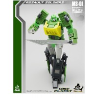 MFT MECH SOUL MS-01 Samurai (Legends Springer)