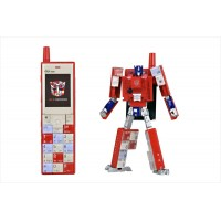 TakaraTomy  au x Transformers Project Infobar Optimus Prime