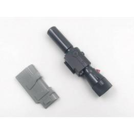 MODFANS Black mamba P36-2 Cannon (Voice w/ LED) - Upgrade Kit for MP36 Megatron