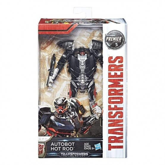 Hasbro The Last Knight  Hot Rod - Limited Edition Exclusive