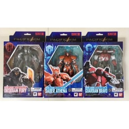 Bandai Robot Spirits Pacific Rim Uprising Set of  3 (Part B)