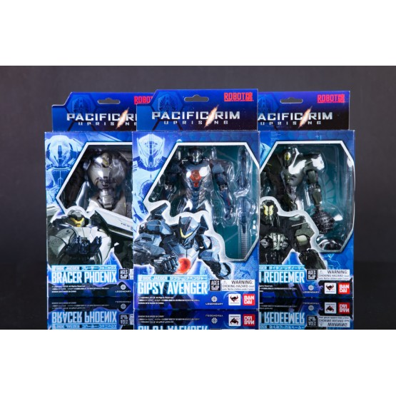 Bandai Robot Spirits Pacific Rim Uprising Set of  3(Part A)