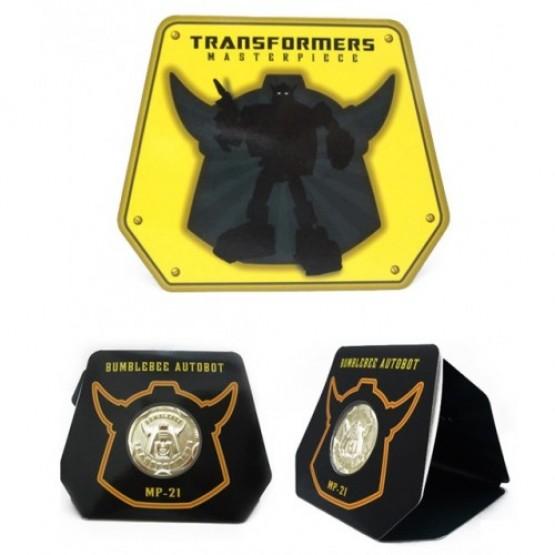 TakaraTomy  MP-21 Bumblebee Coin