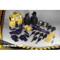 ToyWorld TW-C07B Constructor Full Set BoxSet (yellow)