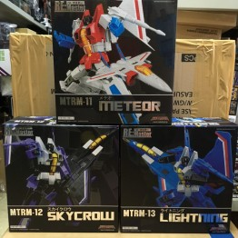 MakeToys MTRM-11 12 13 Meteor+ Skycrow + Lightning
