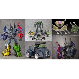MBC002 Military Titans with MBC002-P Bonus Parts + Bruticus Set