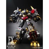 Zeta Toys - EX-04 Dinokong - Dino Combiner - Metallic Set of 5