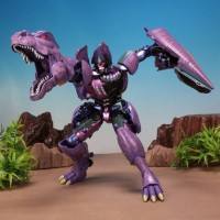 TakaraTomy Masterpiece  MP-43 Megatron - Beast Wars with coins/gift
