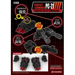 Perfect Effect  PC-21 Perfect Effect  POTP Dinobots Volcanicus Add on Set