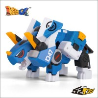 BEASTBOX BB-05 Pioneer Deformation Triangle Dragon (Blue)