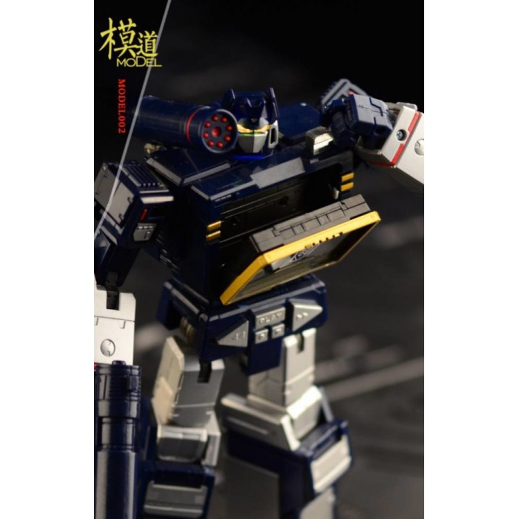 Transformers Toys Model002 Head Upgrade Kit for MP13 Masterpiece Sound Wave