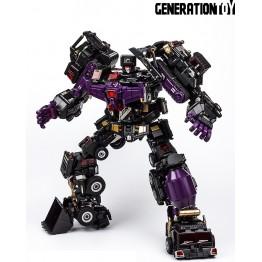 Generation Toy GT-88 BlackJudge Devastator Black Metallic Painted Ver
