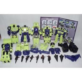 ToyWorld TW-C07 Constructor Full Set BoxSet (green)