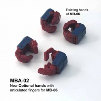 Fanshobby  MBA-02  Articulated hands for MB-06