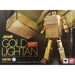 Bandai Soul of Chogokin Golden LIGHTAN GX-32G 24K