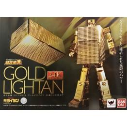 Bandai Soul of Chogokin Golden LIGHTAN GX-32G 24K