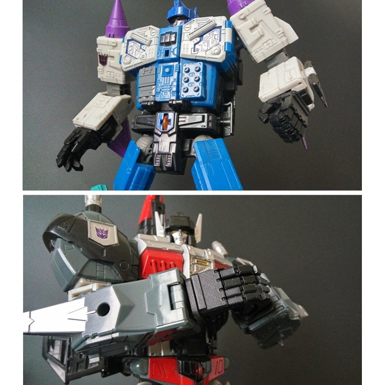 Shockwave Lab SL-45 LED Matrix Unit for Optimus Prime siege Voyager class