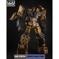 ToyWorld TW-C07F  Yellow Constructor - Weathered Edition - Limited Edition Gift Set