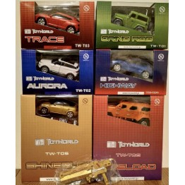 ToyWorld T01-06 Full Set with Gold cannon