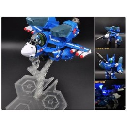 KITZ CONCEPT  Robotech SD (Super-Deformed)Macross VF-1J Max(Blue)