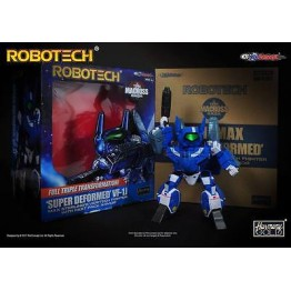 KITZ CONCEPT  Robotech SD (Super-Deformed) Macros VF-1J Max  (Blue)