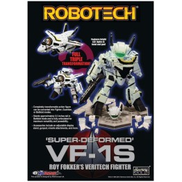 KITZ CONCEPT  Robotech SD (Super-Deformed) Macros VF-1S Roy Fokker's Veritech Fighter