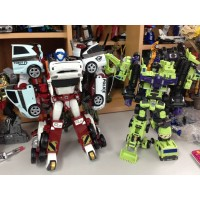 TOBOT Quadrant 4 Copolymers Transformer Robot Diecast Toy Vehicles
