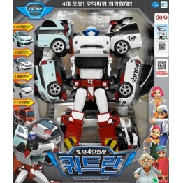 TOBOT Quadrant 4 Copolymers Transformer Robot Diecast Toy Vehicles