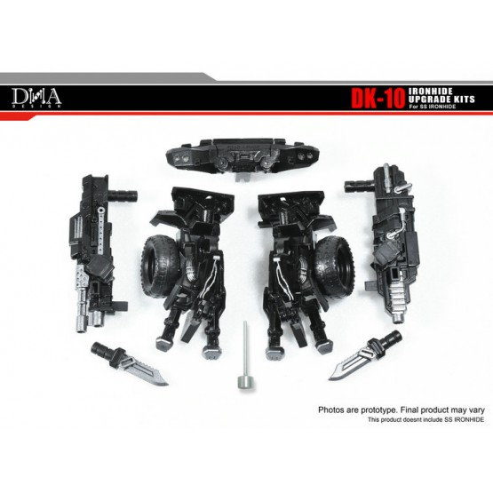 DNA Design DK-10 Upgrade Kit for Studio Series Ironhide