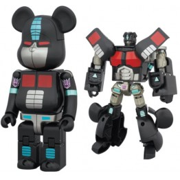TakaraTomy Transformers Bearbrick  Nemesis Prime