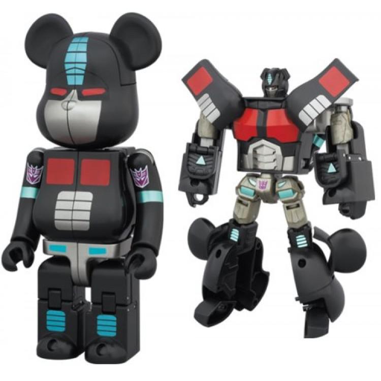 13dc789c TakaraTomy Transformers Bearbrick Nemesis Prime