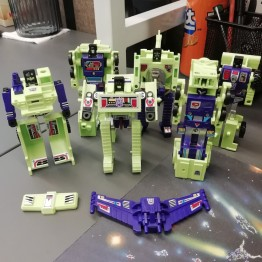 Transformers G1 Devastator Sticker