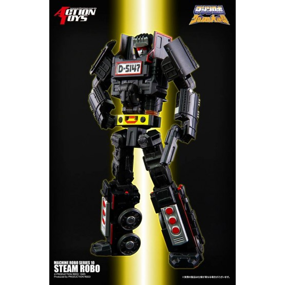 Action Toys  Machine Robo 10 Steam Robo