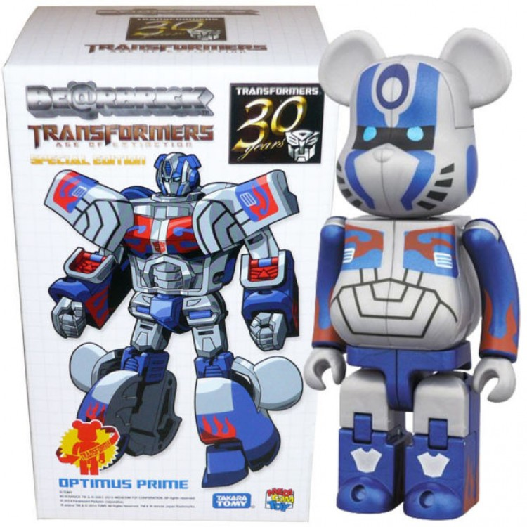 2403b9e4 TakaraTomy Transformers Bearbrick Extinction Optimus Prime