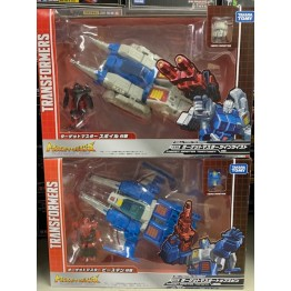 TakaraTomy Transformers Legends - LG65 + LG66 Twin Twist Topspin
