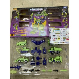 G1 Takara Transformer Reissue Encore 20 Devastator Combaticons Giftset