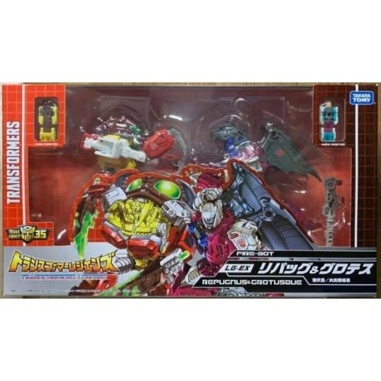 TakaraTomy  Transformers Legends Fire-Bot LG-EX Repugnus & Grotusque