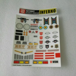 MP-33 Inferno Sticker