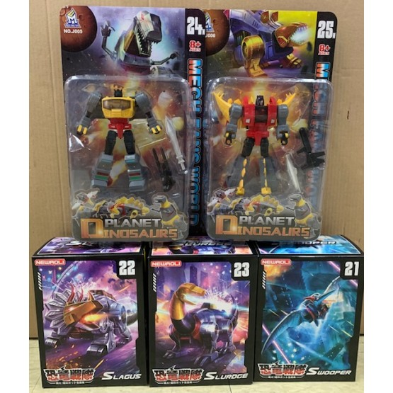 MFT  MECH SOUL  Dinobot Set of 5 (Cartoon Ver)