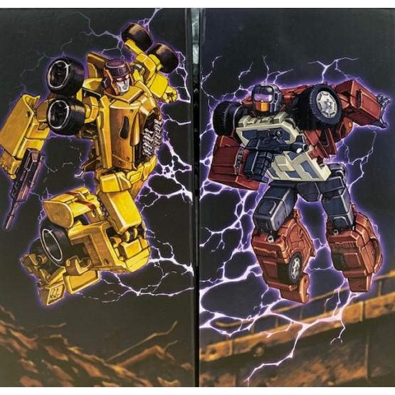 XTransbots Monolith Combiner - MX-15 Deathwish+ MX-16 Overheat
