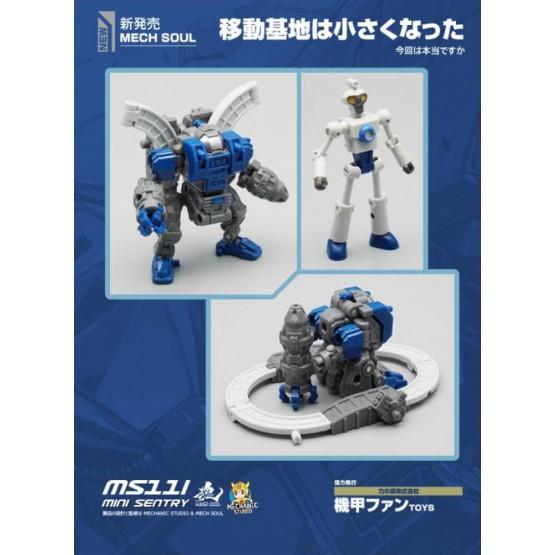 MFT MS11I Mini Sentry & Doc (Blue)