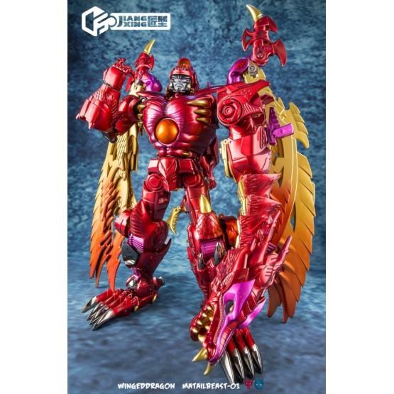 Jiangxing JX-MetalBeast-01 Winged Dragon (Rerun)